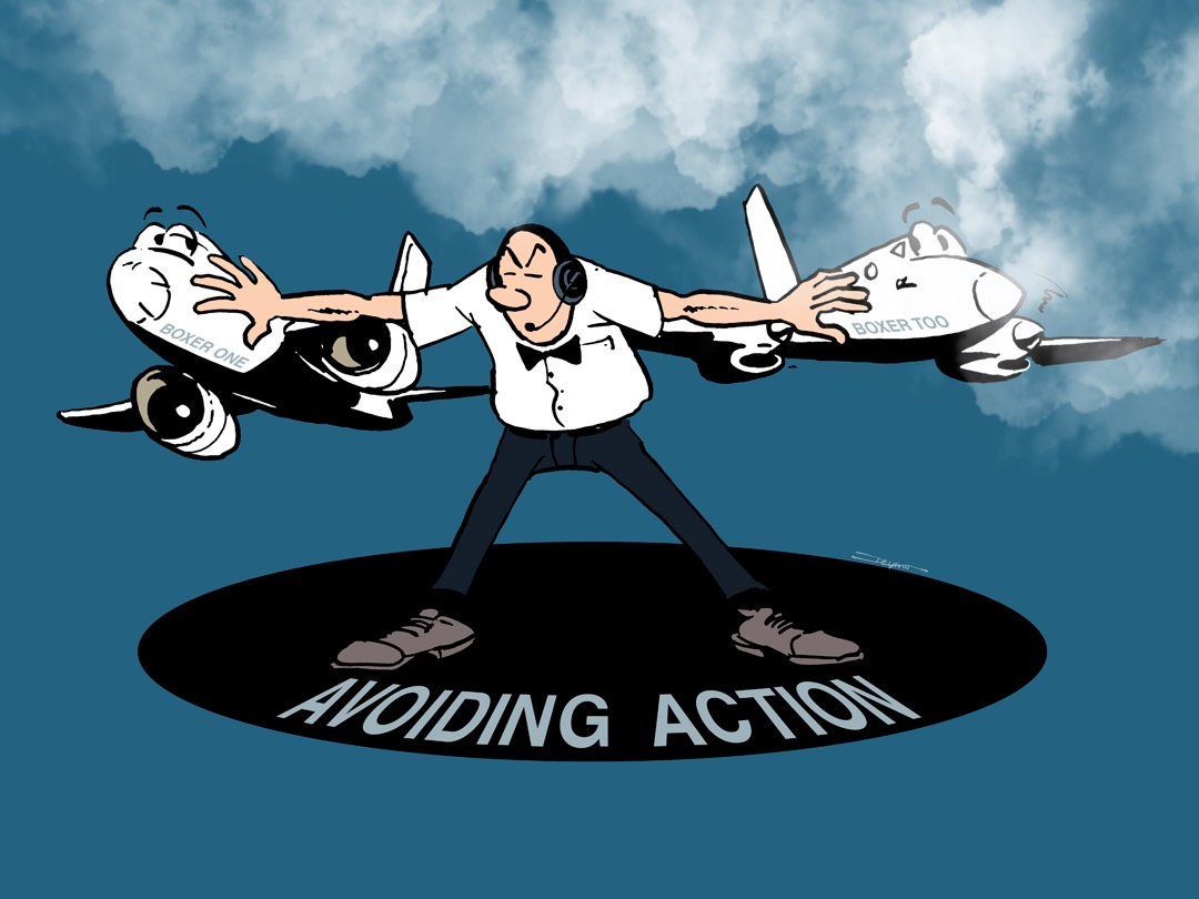 Avoiding action