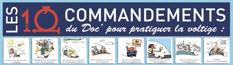 G-Loc, les 10 commandements du doc